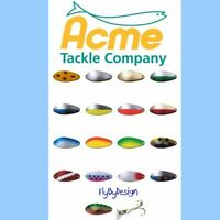 ACME LITTLE CLEO Fishing Spoon - Choose Lure Color, Weight & Quantity