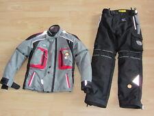 Motorradkombi Kinder Motorradjacke Motorradhose Probiker Größe XS 128 134