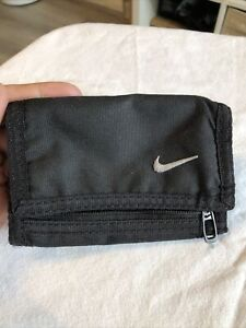 Nike Black Canvas Wallet