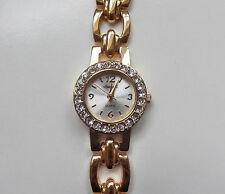 Reloj de Cuarzo nuevas señoras Ingersoll Chapado en Oro 18 CT Set con biseles de 4 (IN33867)