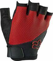 Fox Racing Reflex Short Finger Gel Glove, Red, Size Men's Small