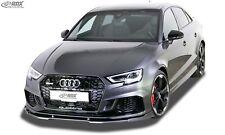 RDX Spoilerlippe für Audi RS3 S3 A3 Typ 8V Frontspoiler Spoilerschwert Ansatz