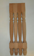 New listing A set of 4 cherry hall table legs