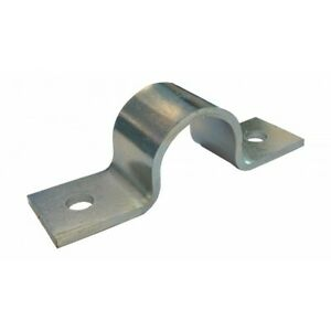 Pipe Saddle Clamp - Anchor / Grip Type - Mild Steel - Various Sizes / Finishes