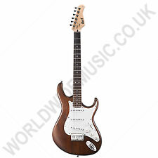 Cort G100 OPW G-Series Electric Guitar with Open Pore Walnut finish.