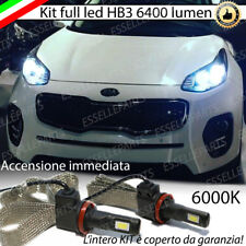 KIT FULL LED KIA SPORTAGE QL LAMPADE ANABBAGLIANTI LED HB3 6000K NO ERROR