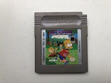 Bart Simpson's Escape from Camp Deadly (DMG-TS-USA) for Game Boy. Game Only