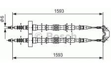BOSCH Cable de accionamiento, freno estacionamiento OPEL ASTRA 1 987 477 527