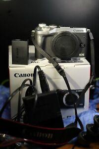 Canon EOS M6 (Body Only) DSLR 24.2mp Full HD 1080p Digital Camera Silver