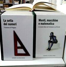 """Collana """" Mondo Matematico """" (39 vol.) - RBA Italia Edizioni 2013 full series"""