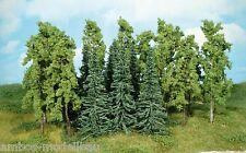 HEKI 1416 h0/TT, mista di foresta, 15 alberi e abeti, 12 - 16 cm, Nuovo