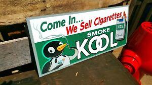 Vintage look Old Style kool cigarettes Sign hot rod garage art