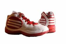 adidas SM TS Cut Creator NCAA Mens White/Red Mid Top Basketball Sneakers size 18