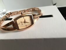 DKNY NY2314 LADIES CROSSWALK WATCH ROSE GOLD TONE STAINLESS STEEL NEW