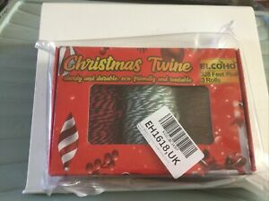 3 Christmas Twine 328ft Reels Crafts