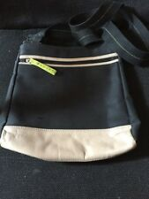 Black Nylon With Beige Leather Radley Cross Body Bag
