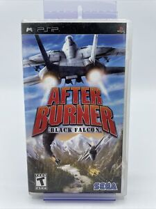 After Burner Black Falcon for Sony PlayStation Portable PSP Complete With Manual