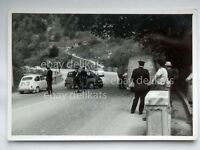TRIESTE Opicina INCIDENTE Fiat 600 carabinieri vecchia foto