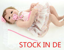 "Rebornpuppen 18"" Whole Body Silicone Doll Realistic Reborn Doll Lifelike Baby"