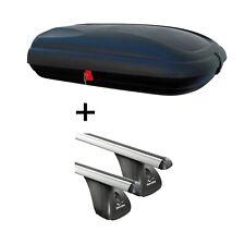 Coffre de toit jueasy 320 320 L Barres de toit Menabo Tema pour BMW 3er E 46 97-05 Acier
