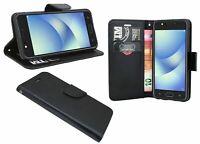 Zubehör Brief Tasche Handyschale Etui Schwarz für ASUS Zenfone 4 MAX (ZC520KL)