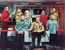 STAR TREK Cast Autographed Photograph - TV Actors & Actresses - Preprint