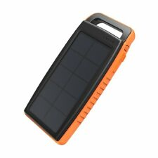 Solar Charger RAVPower 15000mAh Outdoor Portable Charger Solar Power Bank Dual