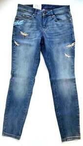 MAC Jeans DREAM Skinny Dragonfly Authentic Stretch Röhre blau Gr.34 L 30 NEU
