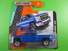 Matchbox 2014 - 2014 Chevy Silverado 1500  - MBX Explorers - 118 - neu in OVP