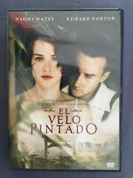 DVD EL VELO PINTADO Edward Norton Naomi Watts Liev Schreiber JOHN CURRAN