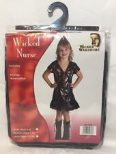 Halloween Fancy Dress Girls Wicked Nurse Costume Age 7-10 Gift