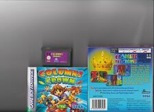 Colonnes CROWN GAMEBOY ADVANCE/GBA/DS