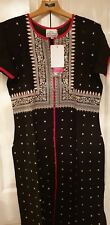 Indian Womens Kurti black and red brand new