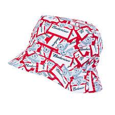 Budweiser Reversible Bucket Hat Red