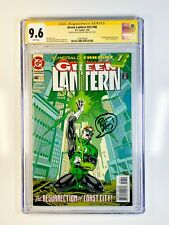 Green Lantern 48 CGC 9.6 Signed & Sketched by Ron Marz 1st app Kyle Rayner