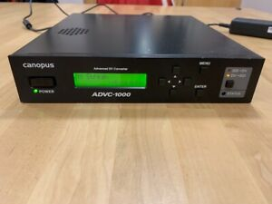 Canopus ADVC-1000 Bi-directional SDI TO DV / Firewire / IEEE-1394 converter