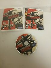 The House of the Dead: Overkill (Nintendo Wii, 2009) COMPLETE TESTED WORKS