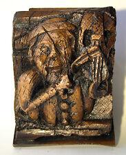 VIOLINO MEDIEVALE Carving Corbel Chiesa MUSICA IDEA REGALO