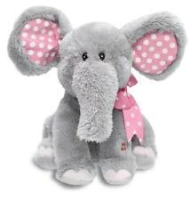 "CUDDLEBARN ELLIE ELEPHANT  sings ""DO YOUR EARS HANG LOW"" HER EARS FLAP.  CUTE."