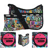 LeSportsac NYC Exclusive Classic Hobo Crossbody Bag + Cosmetic Bag NWT Free Ship