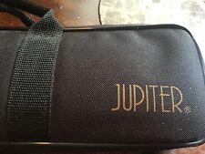 Jupiter Solid Silver Flute Open Hole B Foot in hard case