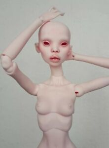 BJD 1/4 MSD Recast Doll Russian Sister Normal Skin Tone With Face Makeup