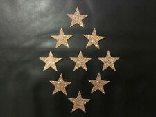 12 Glitter Stars Cupcakes Toppers Party Decoration Cupcake Topper Food Flags