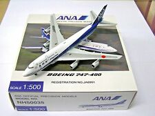 Herpa / Hogan Wings 1:500 NH50035 ANA Japan B747-400 JA8961 - Aircraft Model
