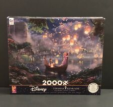 Disney Tangled Rapunzel Jigsaw Puzzle~By Thomas Kinkaid~2,000 Pieces~New