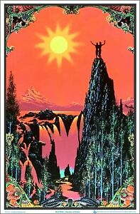 Garden Of Eden Blacklight Poster 23 x 35