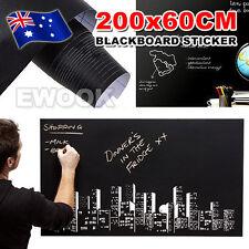 Blackboard Vinyl Chalkboard Wall Sticker Decal Memo Mural Removable Adhesive