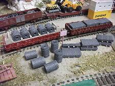 6 PAQUETS DE TREILLIS de 35 m/mx 20 m/m--+ 6 RLX EN HO--TRAINS ELECTR.