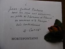 CARCO  ( FRANCIS) MORTEFONTAINE .1946....EDITION ORIGINALE