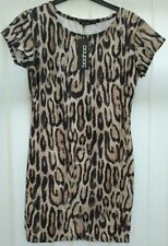 Boohoo Short/Mini Stretch, Bodycon Casual Dresses for Women